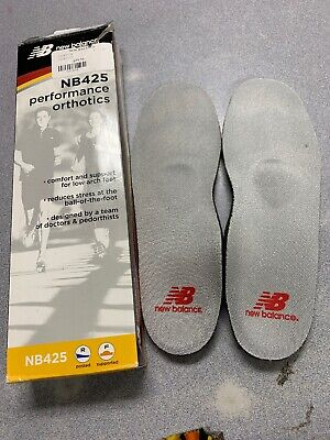 Size 7 NEW BALANCE NB425 FOAM MET PAD Performance ORTHOTICS Shoe Insert Insoles Insoles New Balance Inserts