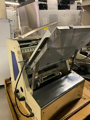 Omcan 302-12 Half Inch Used Commercial Countertop Bread Slicer