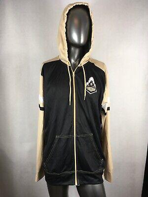 Collegiate Licensed Purdue Boilermakers Full Zip Hoodie Track Jacket Sz XL -