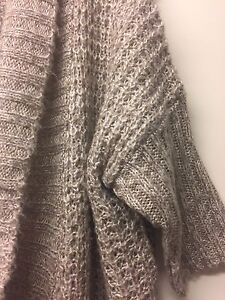 Thick Cable Knit Cardigan