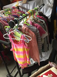 Lot of girls clothes, shoes & toys