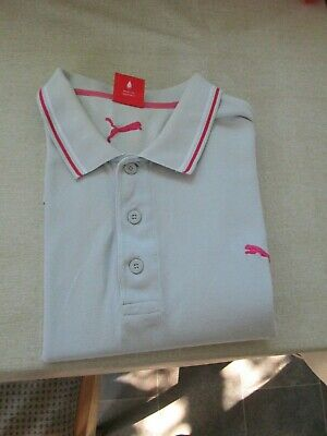 PUMA POLO SHIRT LARGE