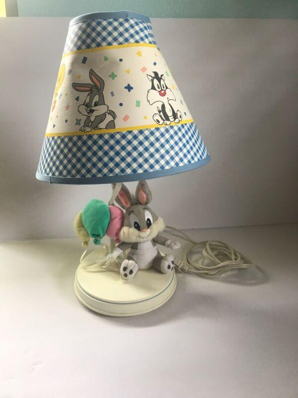 Baby Bugs Bunny Plus Kids Bedroom Table Lamp Vintage Tweety