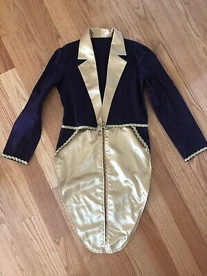Willy Wonka Jacket Ringmaster Tailcoat Topcoat Costume Women's - New Small](Ringmaster Jacket Women)