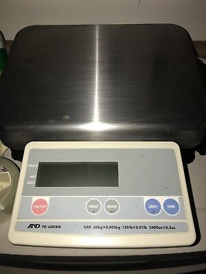 Ad Weighing Bench Scaless Platform Up To 150lbs. Cap. Fg-60kbm