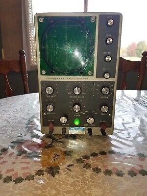 1960s Heathkit Laboratory Oscilloscope 10-12