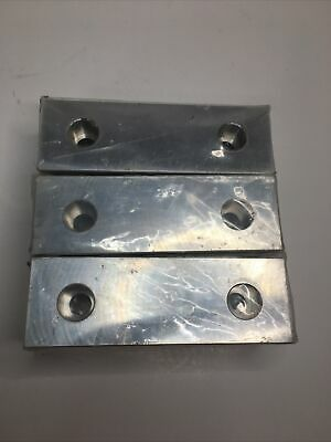 3 Pairs 6 X 2 X 1 Aluminum Standard Soft Jaws Set Fits Kurt 6 Vises Discount
