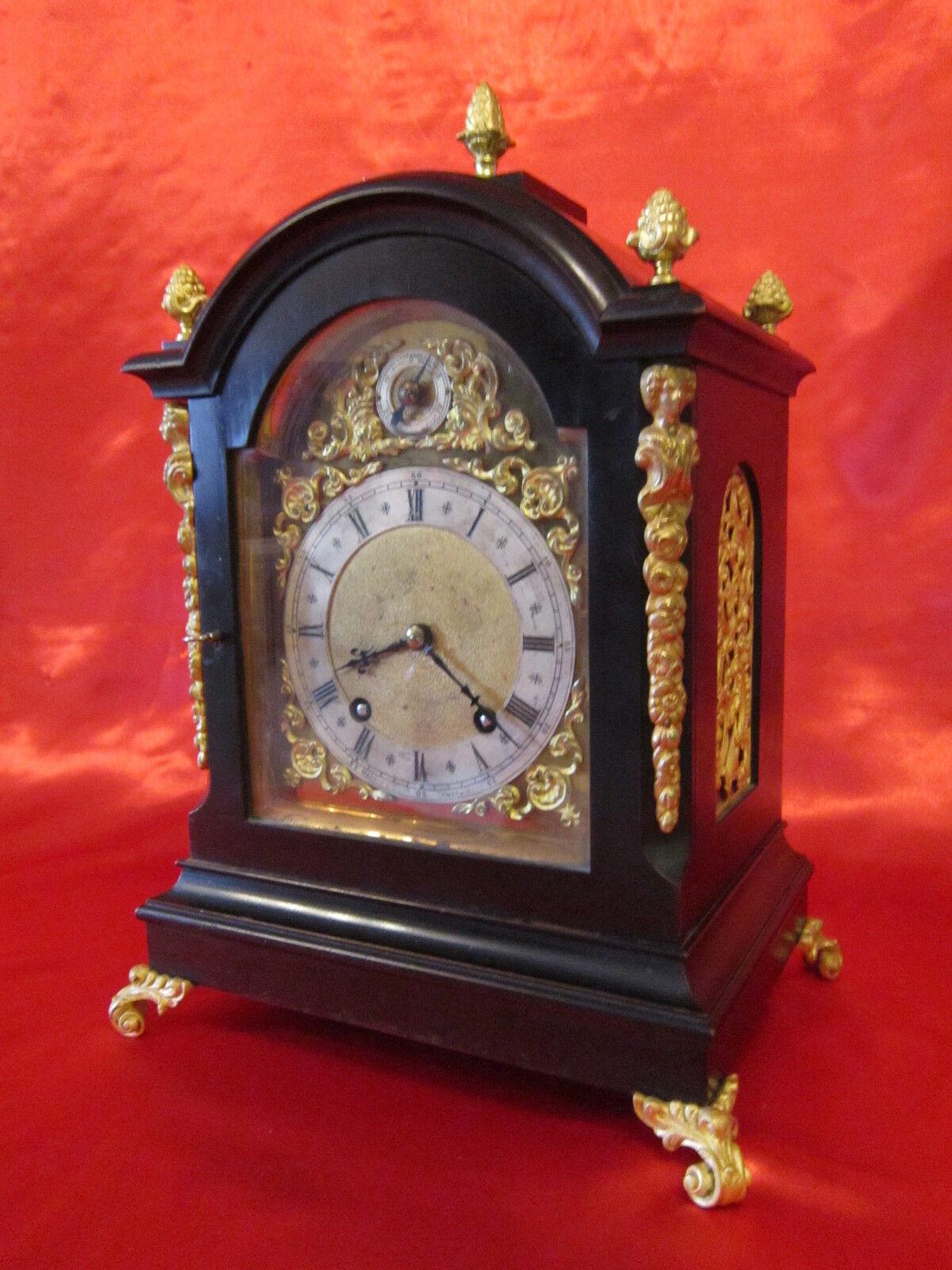Victorian bracket clock by W&H