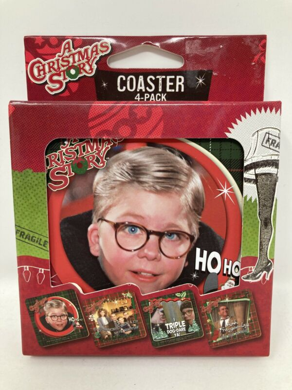 A Christmas Story Coaster 4 pack