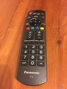 Panasonic TV remote controller.