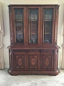 Antique china/  crystal cabinet Hillside Melton Area Preview