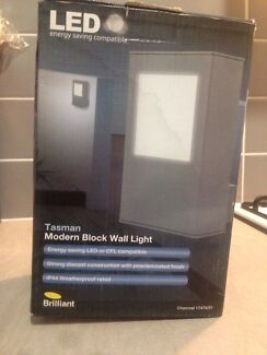 LED Modern block wall light - Tasman Werribee South Wyndham Area Preview