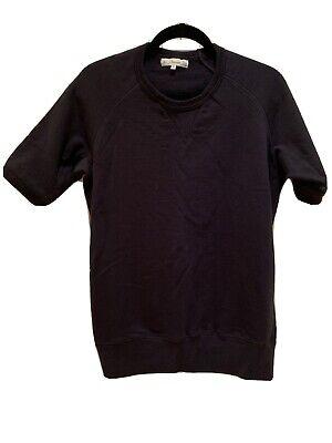 Merz B Schwanen Navy Blue Short Sleeve Sweatshirt