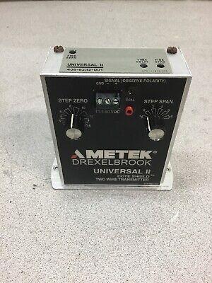Ametek Drexelbrook 408-8200 Universal Transmitter Level Control