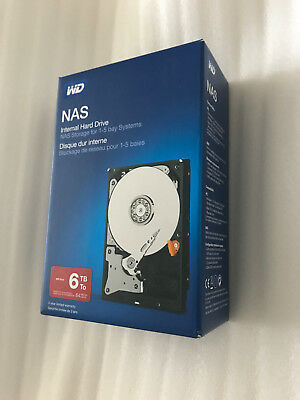 NEW Sealed WD 6TB Red SATA III 3.5