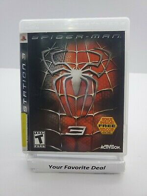 Spiderman 3 Complete With Manual PlayStation 3 Sony PS3 Marvel