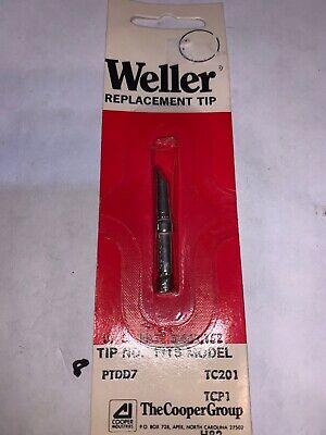 Weller Single Flat Solder Tip Ptdd7 316 4.8mm Lot Of 9 47329 Tcp Tc201
