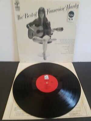 FRANCOISE HARDY LP THE BEST OF  4 CORNERS LP RARE ORIGINAL 1968 SHRINK ON (Best Of Francoise Hardy)