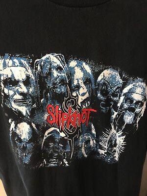Vintage Original Slipknot Mens T Shirt Size L Red Blue Black!
