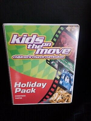 Kids on the Move Children's Church Curriculum- Holiday Pack (Kids On The Move Childrens Church Curriculum)