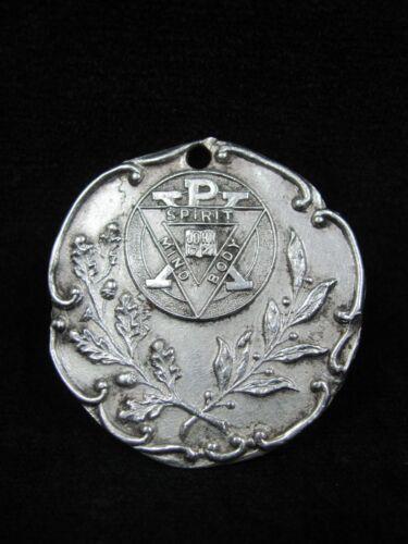 Spirit Mind Body YMCA Sterling Silver Medal