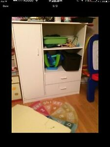 Kids wardrobe tv unit