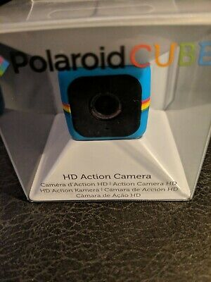 Polaroid POLC3 Cube HD Digital Video Action Camera Camcorder (Blue) Digital Blue Video Cameras