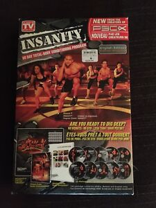 Insanity Workout Program (Package)