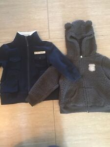 Size 18 months zippered sweater