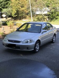 1999 Honda Civic EX - Safety Certified and Low Kilometres!