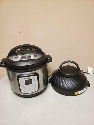 Defect Instant Pot Duo Crisp Air Fryer Pressure Cooker 11 In 1 8 Quart