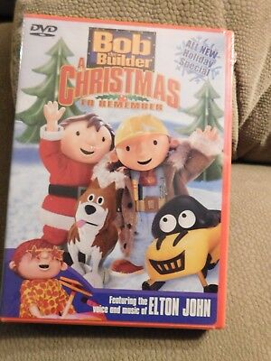 Bob The Builder A Christmas To Remember Holiday Dvd Features Music Of Elton John