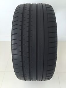 One 265/35/ZR19 AllSeason Continental Contiprocontact NearlyNew