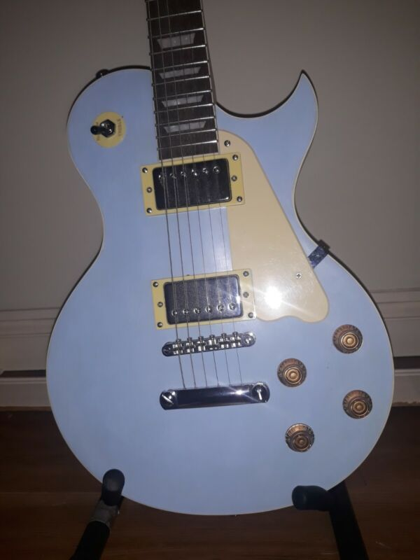 Baby Blue Les Paul Electric Guitar