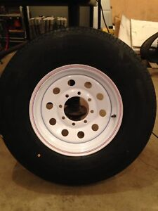 New Trailer Tires On New Rims For Sale