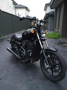 2016 Harley Davidson Street 500 package Pascoe Vale Moreland Area Preview
