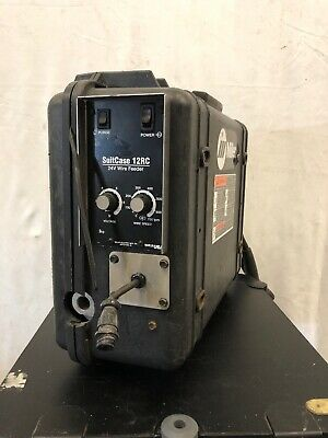 Miller Portable Suitcase 12rc Cc Mig Welder Wire Feeder