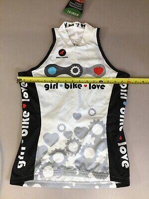 Louis Garneau Women/'s Beeze 2 Sleeveless Cycling Jersey Medium White//Mojito