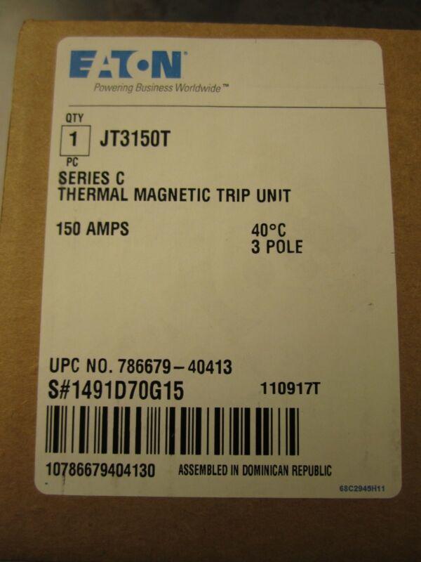 NEW EATON CUTLER-HAMMER TRIP UNIT JT3150T 150A NEW IN BOX QUANTITY