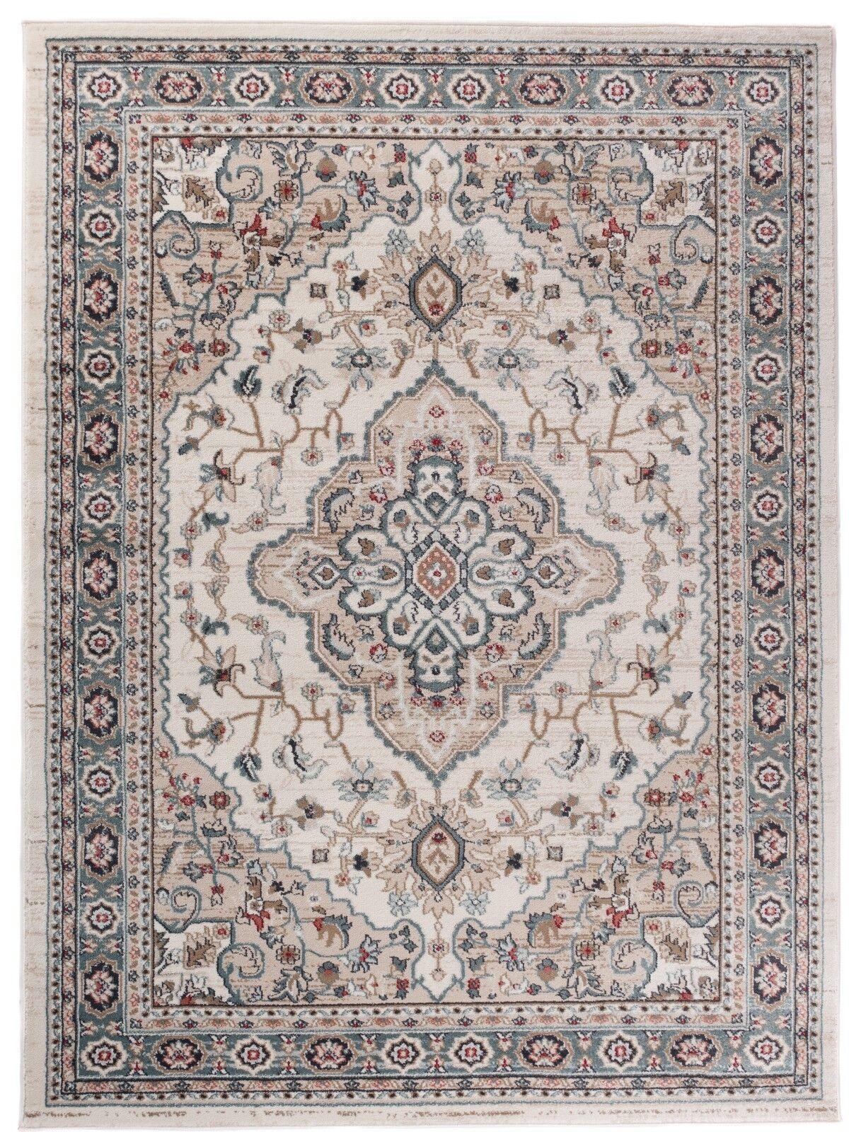 Teppich Osten Orientteppich Perser Vintage Teppiche Beige Creme Weiß
