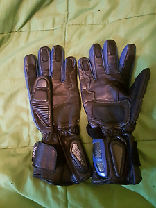 Kevlar leather riding gloves Large Westminster Stirling Area Preview