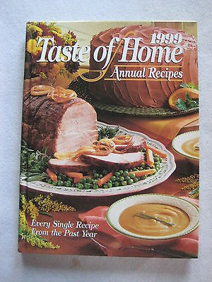 Taste Of Home Annual Recipes 1999 Hard Cover Country Style Cook Book Signed