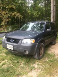 2006 Ford Escape 4x4 runs amazing