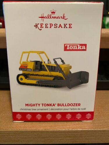 2017 Hallmark Mighty Tonka Bulldozer Christmas Ornament Unopened