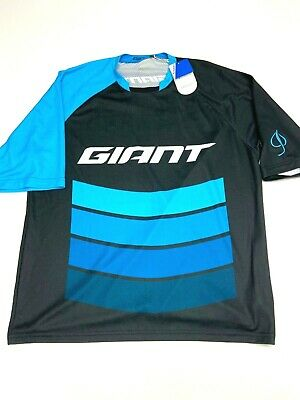 XL Fox Giant Livewire Race Cycling Jersey Blue//White Sizes L