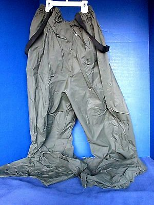(HODGMAN~Hunter Green FULL LEG HIP PVC WADERS~Suspenders~Men's Size M/L)
