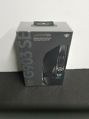 Logitech G903 SE Wireless Optical Gaming Mouse Black