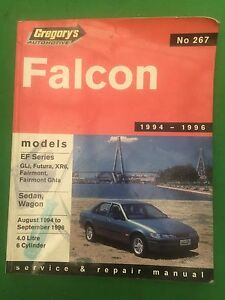 Ef Falcon workshop manual Low Head George Town Area Preview