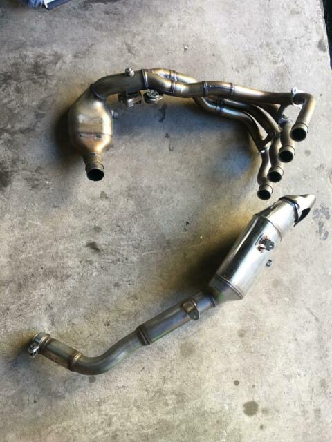 Honda CBR600RR Stock Exhaust and Headers | Motorcycle