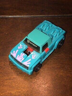 Vintage 1993 Transformers Axelerators Turbofire Autobot G2 Takara Hasbro 1992